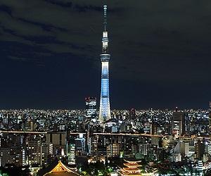 東京スカイツリーが見えるレストラン