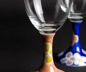 九谷焼ワイングラス